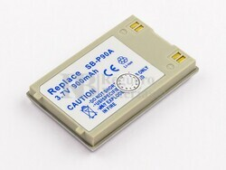 Bateria SB-P90A, Li-ion, 3,7V, 900mAh, 3,3Wh para camaras Samsung