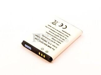 Batería SGH E570, J700, para telefonos SAMSUMG, Li-ion, 3,7V, 700mAh, 2,6Wh