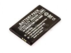 Bateria SGH F400, ZV60, S5600, para telefonos Samsung, Li-ion, 3,7V, 950mAh, 3,5Wh