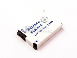 Batería SLB-11A para Samsung CL65, CL80, EX1, HZ25W, HZ30W, HZ35W,TL500, WB1000