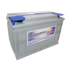 Batería Solar 12 Voltios 105 Amperios Sin Mantenimiento Ozonyx