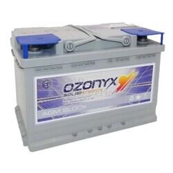 Batería Solar 12 Voltios 75 Amperios Sin Mantenimiento Ozonyx