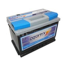 Batería Solar 12 Voltios 75 Amperios Alta Descarga Ozonyx