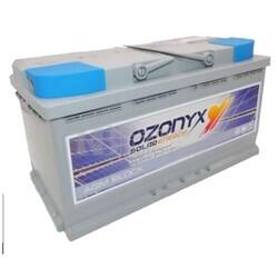 Batería Solar 12 Voltios 95 Amperios Sin Mantenimiento Ozonyx