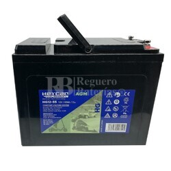 Batería para Solar en Gel 12 Voltios 55 Amperios HG12-55