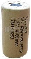 Batería SubC 1.2 Voltios 4.100 mah sin Lengüetas