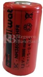 Batería Sub-C 3.800 mAh reparación pack de baterías S/lengüetas