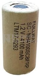 Batería Sub-C 4.100 mAh reparación pack de baterías C/lengüetas