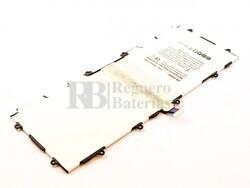 Bateria T4500E para tablet Samsung Galaxy Tab 3 10.1, Li-Polymer, 3,8V, 6800mAh, 25,8Wh
