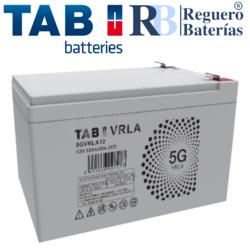 Batería 12 Voltios 12 Amperios TAB 5GVRLA12