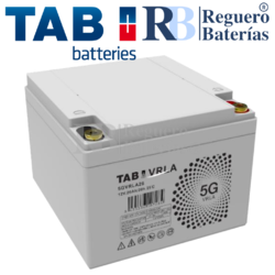 Batería 12 Voltios 26 Amperios TAB 5GVRLA26