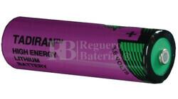 Bateria Tadiran SL-360/S AA 3,6 Voltios 2,4 Amperios