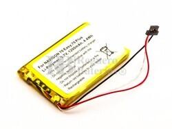 Batería TOPAZ para GPS Navigon 70 Easy, 70 Plus, 70 PREMIUM