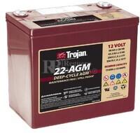 Batería Trojan 22-AGM 12 Voltios 50 Amperios