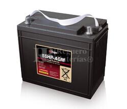 Batería Trojan 5SHP-AGM 12 Voltios 166 Amperios C20  340 x 173 x 286mm