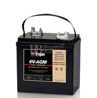 Batería Trojan 6V-AGM  6 Voltios 200 Amperios