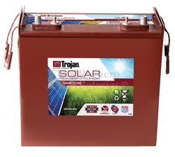 Batería Trojan Solar AGM SAGM 12 205 12 Voltios 205 Amperios C20 380 x 176 x 357mm