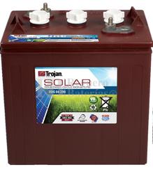 Batería Trojan Solar Signature SSIG 06 290 6 Voltios 265 Amperios C20 262 x 181 x 292mm