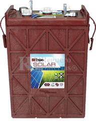 Batería Trojan Solar Signature SSIG 06 490 6 Voltios 443 Amperios C20 296 x 176 x 424mm