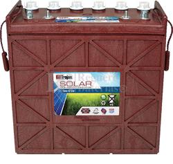 Batería Trojan Solar Signature SSIG 12 230 12 Voltios 209 Amperios C20 380 x 176 x 373mm