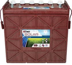 Batería Trojan Solar Signature SSIG 12 255 12 Voltios 229 Amperios C20 380 x 176 x 373mm