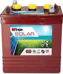 Batería Trojan SPRE 06 225 6 Voltios 229 Amperios C20 262 x 181 x 298mm