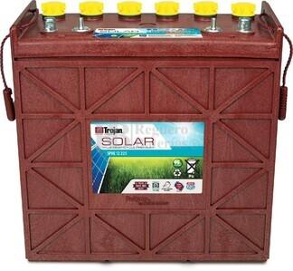 Batería Trojan SPRE 12 225 12 Voltios 204 Amperios C20 380 x 176 x 374mm