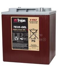 Batería Trojan TE35-GEL 6 Voltios 210 Amperios C20  245 x 191 x 271mm