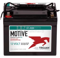 Batería Trojan U1-AGM 12 Voltios 39 Amperios