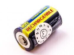 Batería universal CR2 Li-ion, 3,0V, 250mAh, 0,7Wh