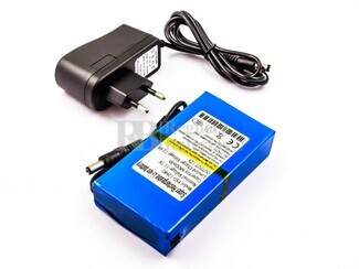 Bateria universal for CCTV Camera, DC-168, Li-ion, 12V, 6800mAh, 81,6Wh