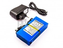 Bateria universal para CCTV Camara, DC-168, Li-ion, 12V, 1800mAh, 21,6Wh