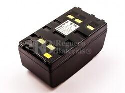Batería universal para video cámaras JVC, PANASONIC, SAMSUNG, SHARP, SONY, NiMH, 6,0V, 4000mAh