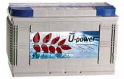 Bateria Solar 12 Voltios 100 Amperios UP-SP100 sin mantenimiento U-Power