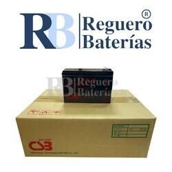 Batería CSB UPS12360-7F2 12V 7,2A Caja 10U