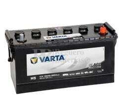 Batería VARTA 12 Voltios 100 Ah Promotive Black 600 047 060 Ref.H5 EN 600A 413X175X220