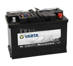 Bater�a VARTA 12 Voltios 100 Ah Promotive Black 600 123 072 Ref.H9 EN 720A 313X175X205