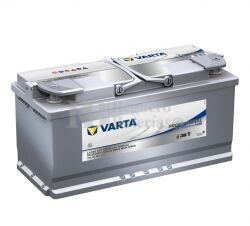 Bater�a VARTA 12 Voltios 105 Ah Profesional Dual Purpose AGM 840 105 095 Ref.LA105 EN 950A 394X175X190