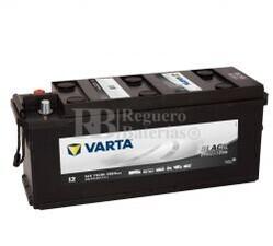 Batería VARTA 12 Voltios 110 Ah Promotive Black 610 013 076 Ref.I2 EN 760A 514X175X210