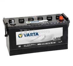 Batería VARTA 12 Voltios 110 Ah Promotive Black 610 050 085 Ref.I6 EN 850A 413X175X220