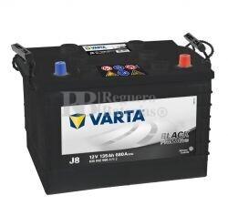 Batería VARTA 12 Voltios 135 Ah Promotive Black 635 042 068 Ref.J8 EN 680A 360X253X240