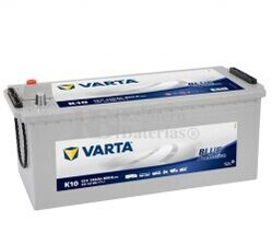 Bater�a VARTA 12 Voltios 140 Ah Promotive Blue 640 103 080 Ref.K10 EN 800A 513X189X223