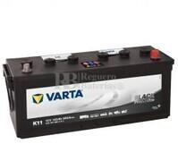Batería VARTA 12 Voltios 143 Ah Promotive Black 643 107 090 Ref.K11 EN 900A 508X174X205