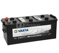 Batería VARTA 12 Voltios 155 Ah Promotive Black 655 013 090 Ref.L2 EN 900A 513X223X223