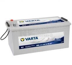 Batería VARTA 12 Voltios 215 Ah Promotive Blue 715 400 115 Ref.N7 EN 1150A 518X276X242