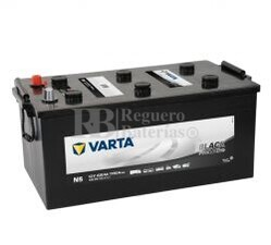 Bater�a VARTA 12 Voltios 220 Ah Promotive Black 720 018 115 Ref.N5 EN 1150A 518X276X242