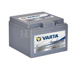 Batería VARTA 12 Voltios 24 Ah Profesional Deep Cycle AGM 830 024 016 Ref.LAD24 EN 145A 165X176X125