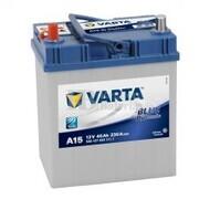 Batería VARTA 12 Voltios 40 Ah Blue Dynamic 540 127 033 Ref.A15 EN 330A 187X127X227