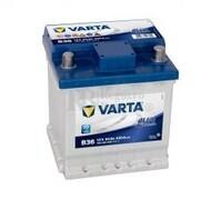 Batería VARTA 12 Voltios 44 Ah Blue Dynamic 544 401 042 Ref.B36 EN 420A 175X175X190