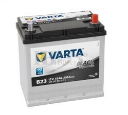 Bater�a VARTA 12 Voltios 45 Ah Black Dynamic 545 077 030 Ref.B23 EN 300A 219X135X225